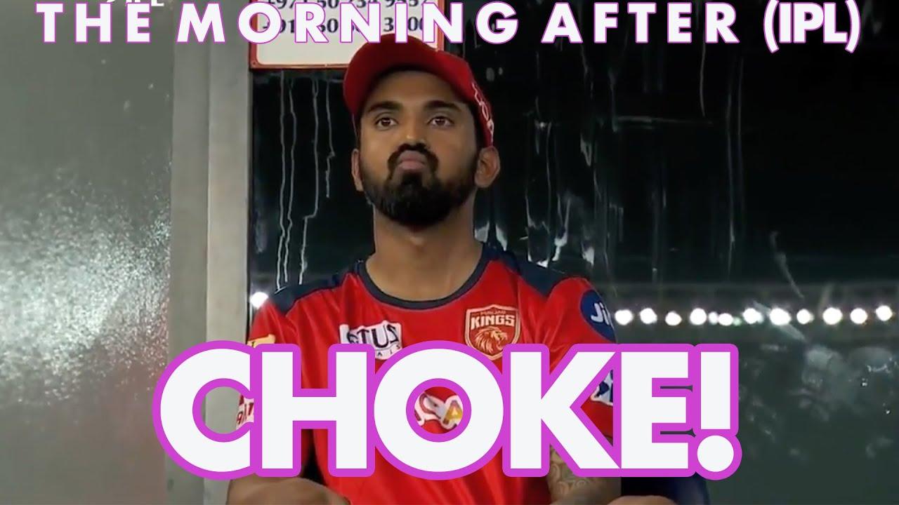CHOKE!   KKR v RCB/ PBKS v RR   The Morning After (IPL)