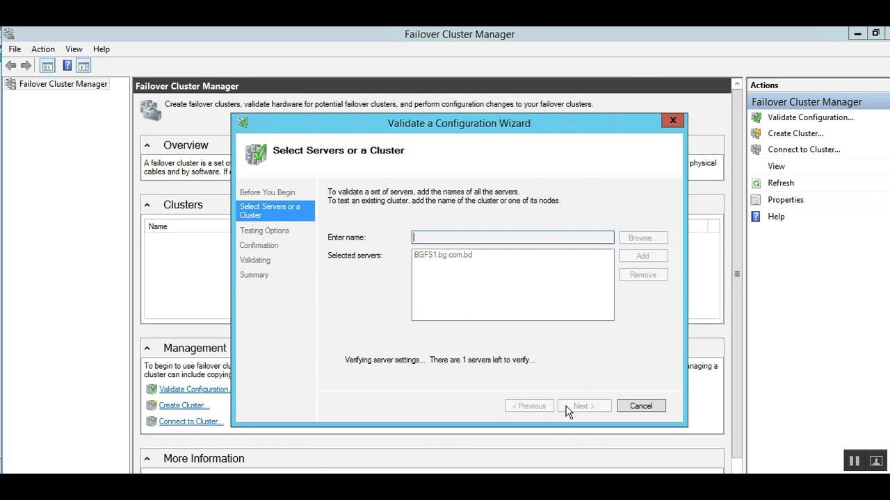 Testing helps in validating windows