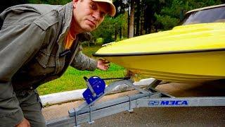 Идеальный прицеп для лодки, он существует?