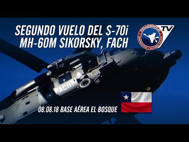 [EXCLUSIVO] Segundo circuito de vuelo de los nuevos Black Hawk S-70i de la FACH
