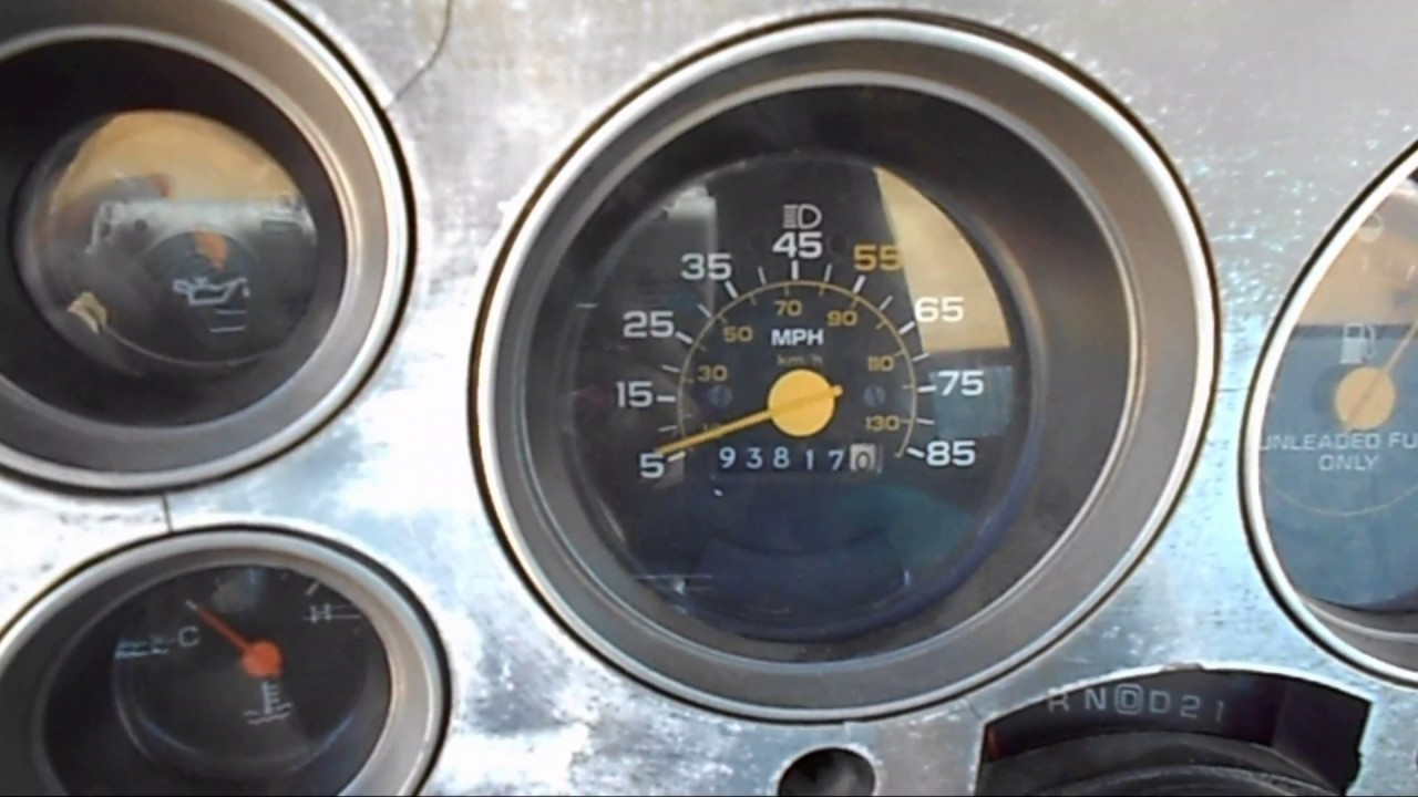 Speedometer Does Not Work How To Fix 1987 Chevrolet Pick