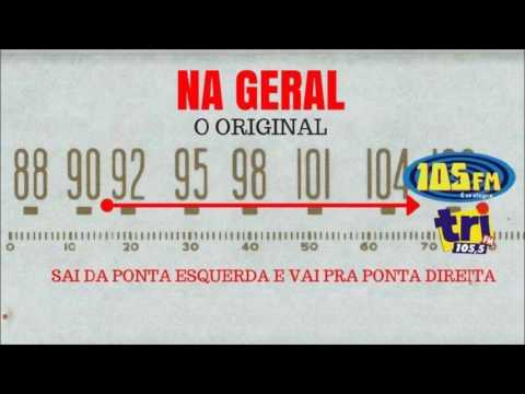 """O primeiro """"Na Geral"""" na 105 FM e na Tri FM (01/11/2016)"""