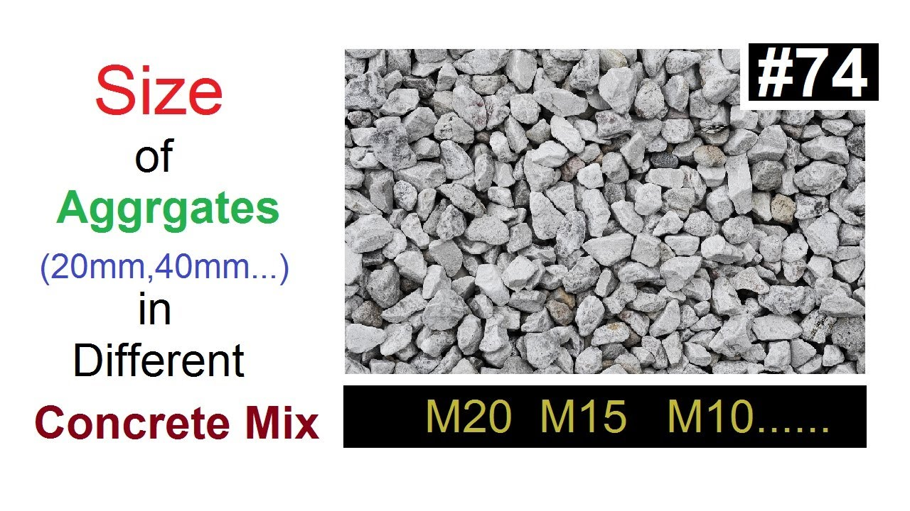aggregates used in concrete Concrete materials: specified aggregates used in a variety of concrete mixes specialised materials: washed or blended aggregates for use in the road, paving.