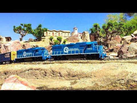 RC ADVENTURES - G Scale Model Train Exhibit - Palm Springs, California