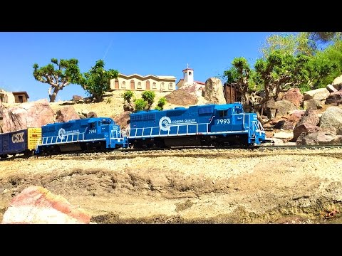 RC ADVENTURES – G Scale Model Train Exhibit – Palm Springs, California