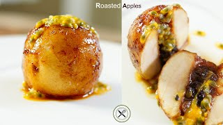 Roasted Apples – Bruno Albouze – THE REAL DEAL