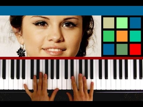 """How To Play """"Love You Like A Love Song"""" Piano Tutorial (Selena Gomez)"""