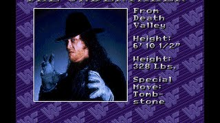 WWF Royal Rumble - WWF Royal Rumble-The Undertaker - User video