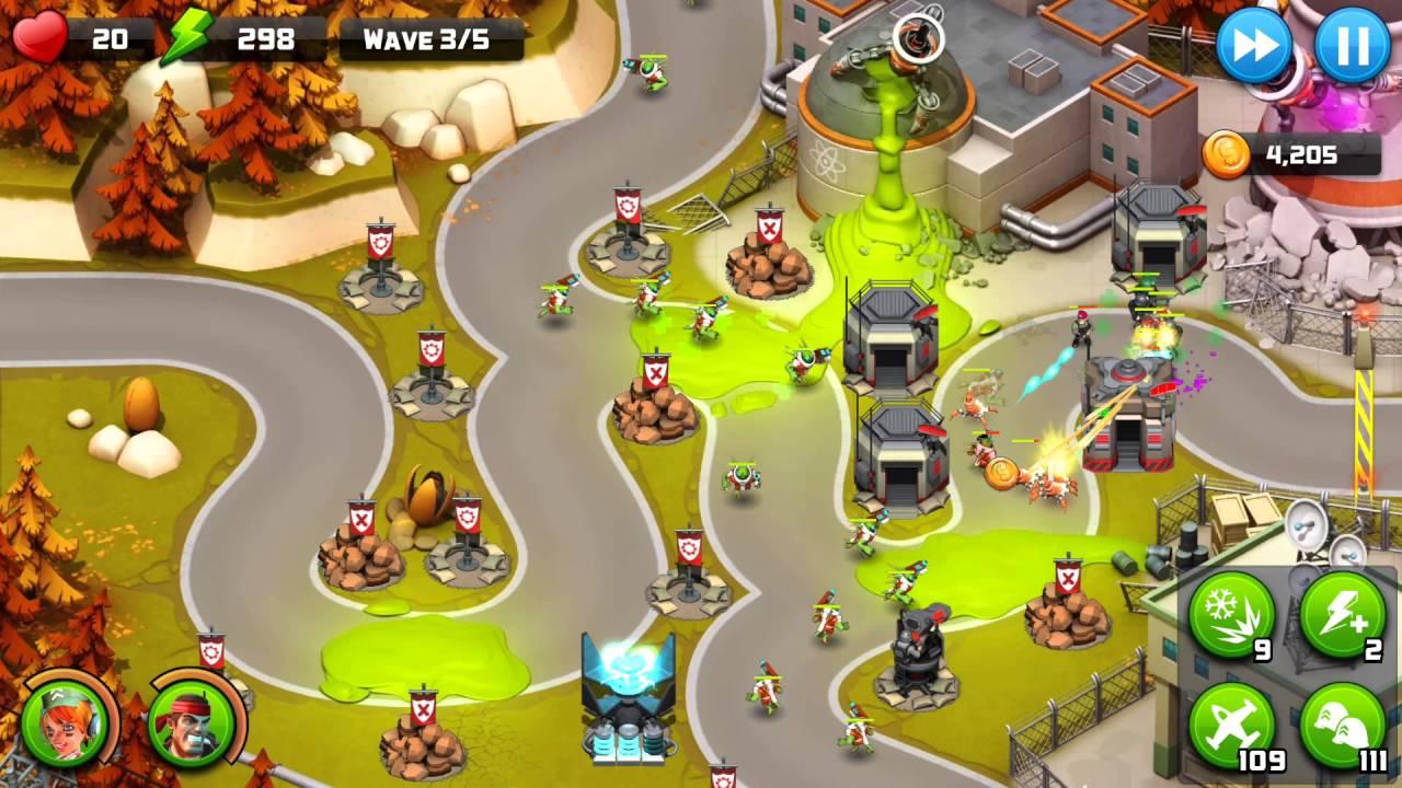 Alien Creeps Walkthrough Level 42 Geiger Gates for 3 Stars Campaign  gameplay - YouTube