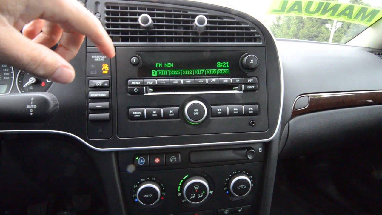 2009 saab 9 3 2 0t manual stk 40121a for sale trend motors used car center rockaway nj [ 1280 x 720 Pixel ]