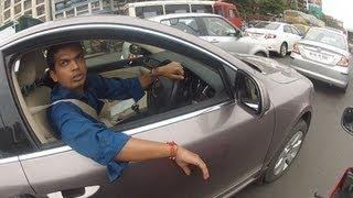 world s most stupid driver