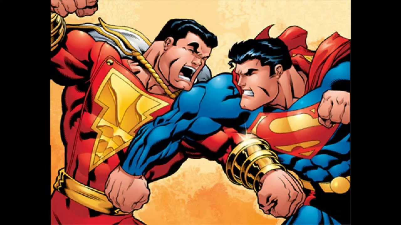 Image result for captain marvel vs superman