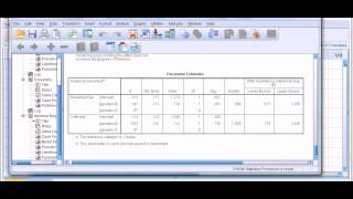 SPSS: Multinomial logistic regression (1 of 2)