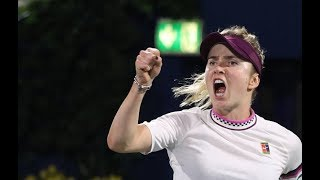 Elina Svitolina | 2019 Dubai Tennis Championship Quarterfinal | Shot of the Day