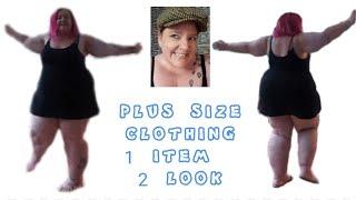 SSBBW .. Plus size Clothing : day to night .. SEXY .. Positive attitude always