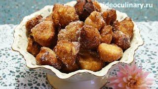 Пончики из заварного теста - Рецепт Бабушки Эммы