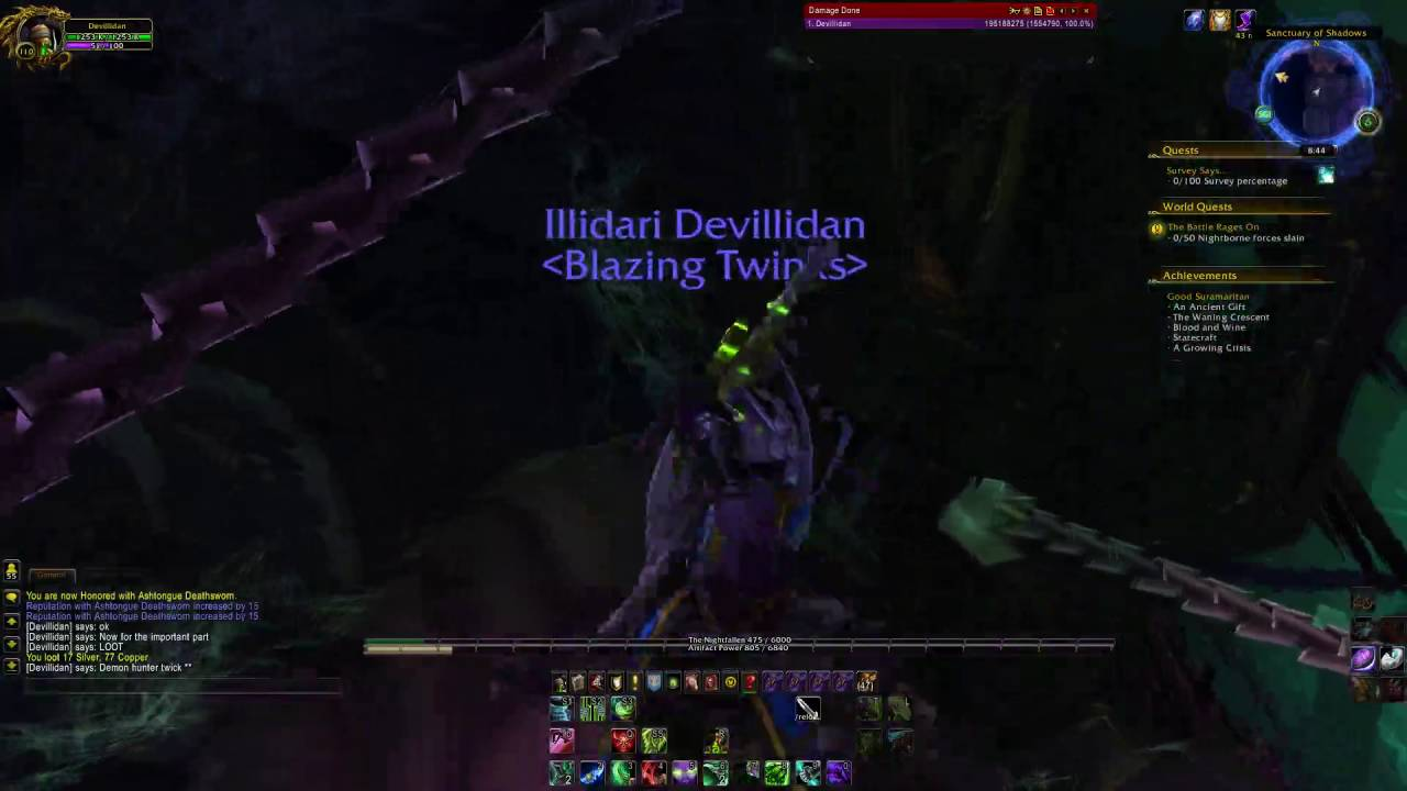 How To Skip All Bosses Up To Illidan In Black Temple Youtube