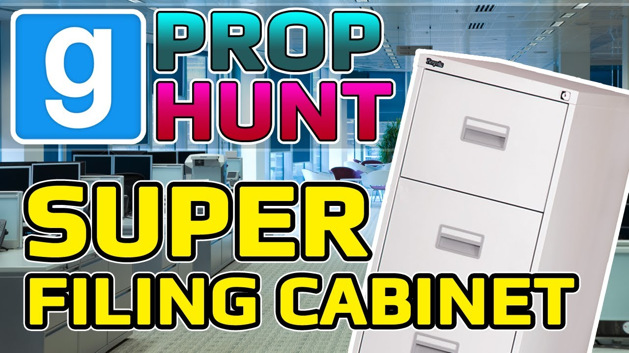 Super Filing Cabinet 3000 (Garry's Mod Prop Hunt) - YouTube
