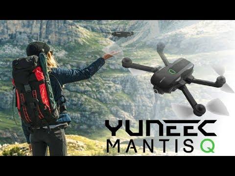 YUNEEC MANTIS Q GPS FOLDING DRONE TECH REVIEW - AUG 2018 RELEASE