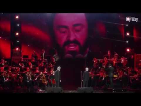 Pavarotti 10th Anniversary《My Way》Domingo and Carreras Sep 6, 2017. パヴァロッティ没後10周年コンサート
