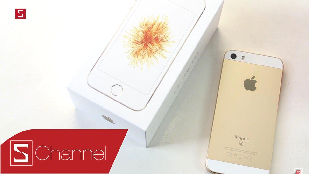 Schannel – Mở hộp iPhone SE Gold: Em vẫn đẹp như ngày đầu tôi gặp em cách đây 2 năm…