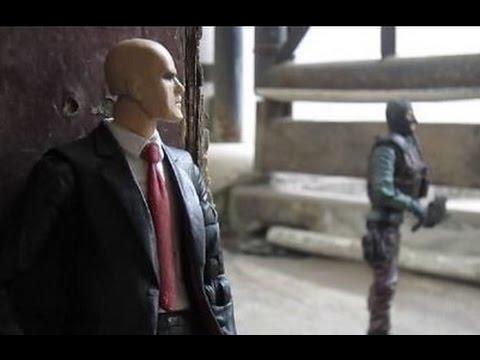 Agent 47 Hitman Custom Action Figure Youtube