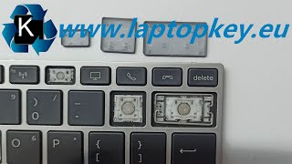 Installation Guide how to install fix repair keys in HP keyboard 450 G5 455 G5 470 G5 840 G5 745 G5