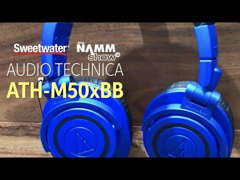 Audio-Technica ATH-M50xBB LTD Professional Monitor Headphones At Winter NAMM 2018