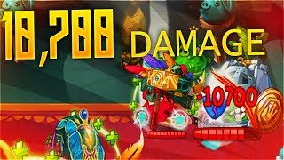 RED 10,700 DAMAGE Angry Birds Epic
