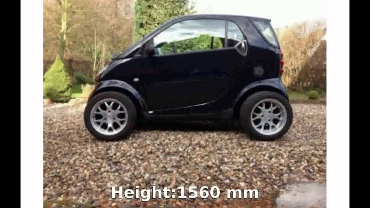 2002 Smart Fortwo Coupe Pure Cdi Specs And Features