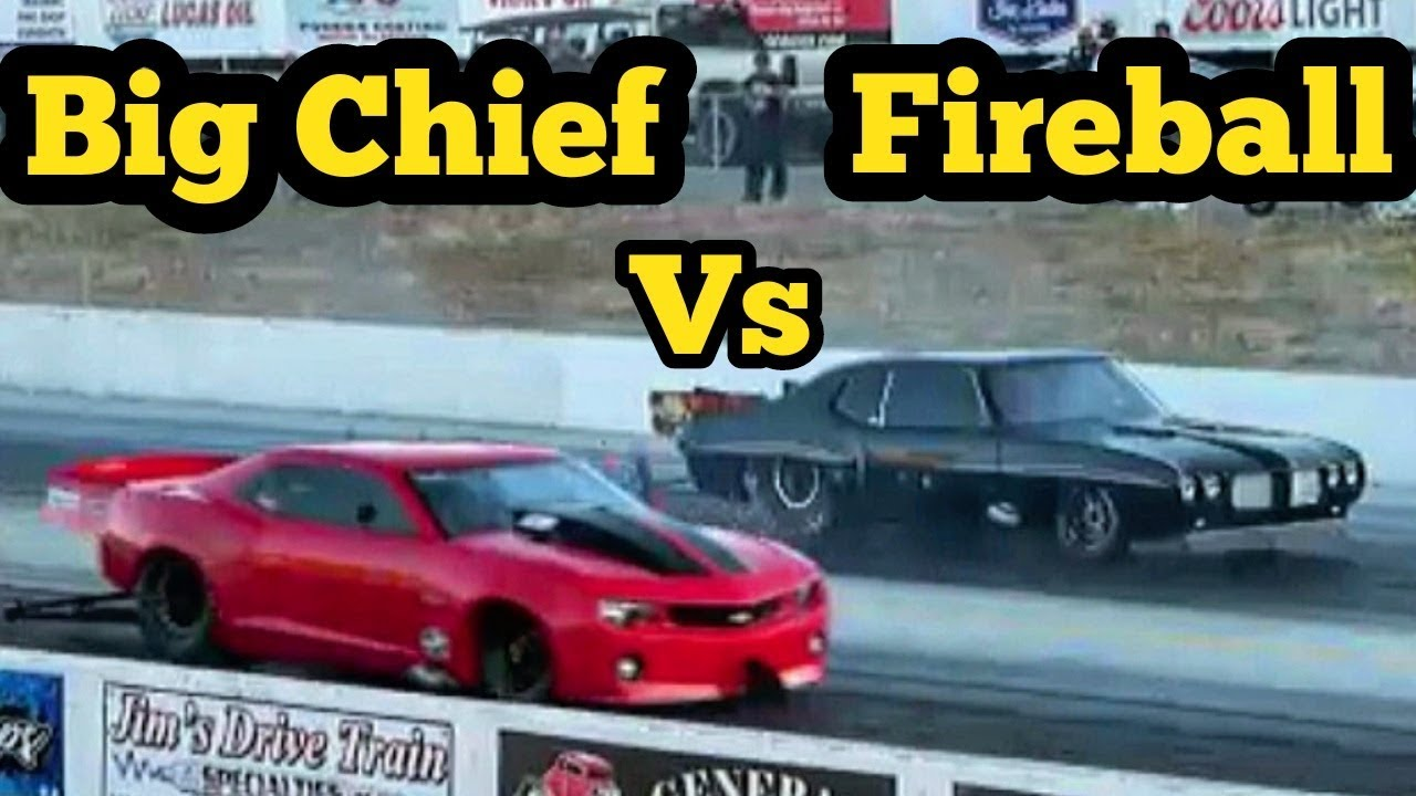 Street Outlaws Big Chief at Idaho No Prep Kings!!