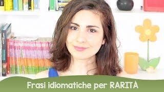 """Learn Italian: frasi idiomatiche che esprimono """"rarità"""""""