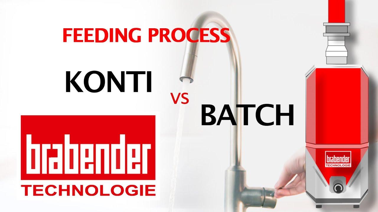 Comparing Continuous vs Batching Processes