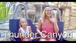 Getting Soaked On Thunder Canyon At Valleyfair