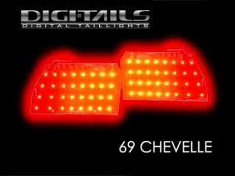 Digi Tails 1969 Chevelle Sequential Led Tail Lights Youtube