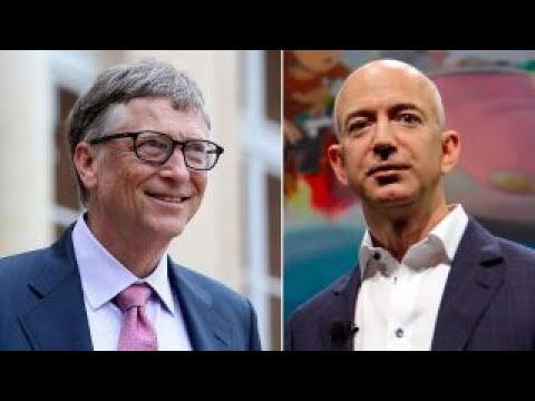 Battle Of The Billionaires Jeff Bezos Vs Bill Gates Youtube