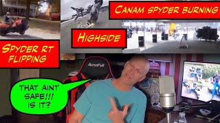 CanAm's Burning?!? Spyders Flipping?!?  IS THE CANAM SPYDER SAFE?!? Thumb