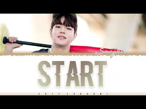 SEUNGMIN (STRAY KIDS) - 'START' (GAHO COVER) Lyrics [Color Coded_Han_Rom_Eng]
