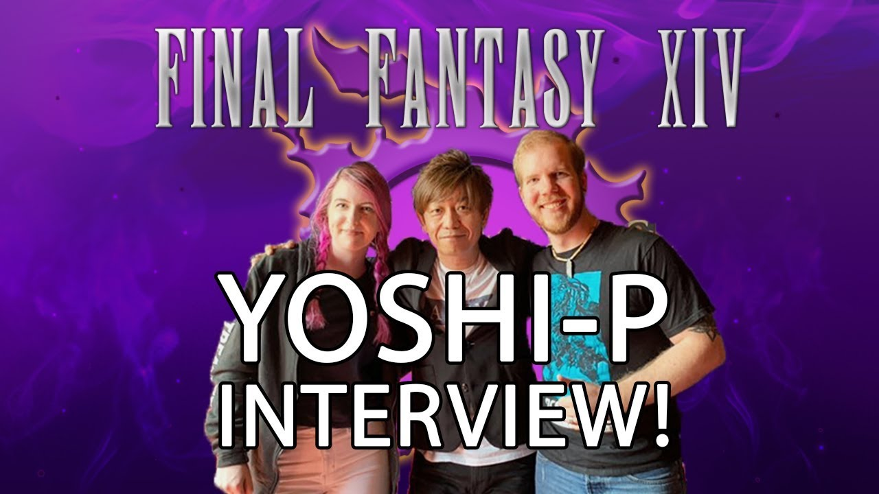 FFXIV Shadowbringers Media Tour - Interview with Yoshi P