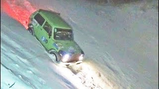 Покорение карстовой воронки. Jeep Cherokee, Grand Cherokee, Нивы, УАЗ Патриот.
