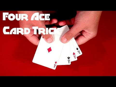 all the aces card trick