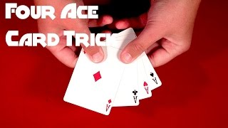 Insane Four Ace Card Trick!