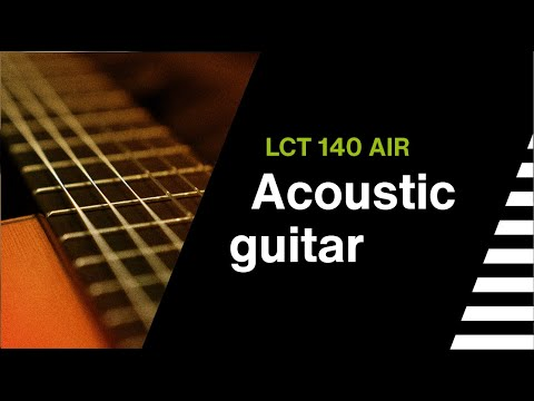LCT 140 AIR // LEWITT Sound Sample // Acoustic Guitar