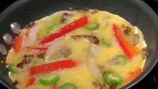 Easy Breakfast Omelette Super Quick And Texas Style Yummy!