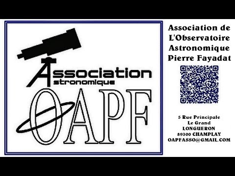 OAPF Joigny Observatoire Astronomique Pierre Fayadat