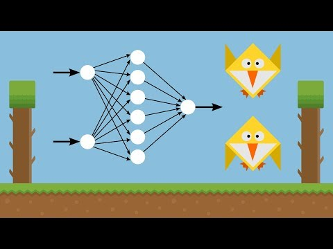 Machine Learning for Flappy Bird using Neural Network & Gene