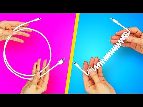 14 GENIUS HACKS WITH WIRES AND PHONES