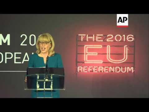 Chief Counting Officer briefs on UK referendum
