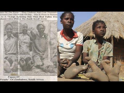 Aliens aus Zimbabwe - Diese Dorfbewohner kommen aus dem Weltall!