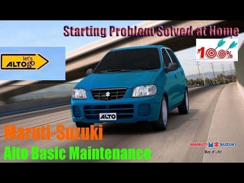 Maruti Suzuki Alto Starting Problems